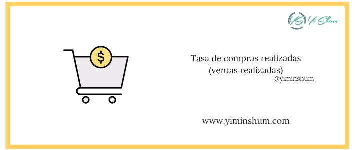 Tasa de compras realizadas (ventas realizadas) – calculadora